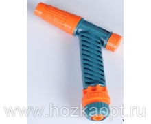 11 Пистолет поливочный с муфтой  1/2  (100шт/уп.)