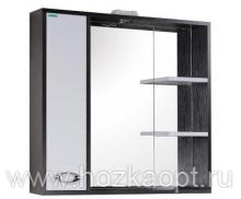 Джакарта Зеркало + подсветка  лев. / прав., 75см. (750*150*712мм)