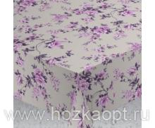 Скатерть ALBA  120х140см Вальс цветов фиол.  6121