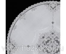Скатерть Ажурная Legend круг. диам.160см сепия (10шт./ рул.) (Япония) 5342