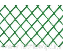 Решетка заборная, ячейка 18*18мм, 1,5*25,0м АгроПолимер