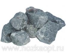 Камни Габбро-Диабаз колотый, 20кг (мешок)