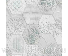 121.1 Клеенка Future 1,4*20м Старинная плитка ПВХ на нетк.осн. с печат.рис.(Италия)