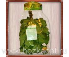 Веник Дуб кавказский Экстра с чабрецом в упаковке