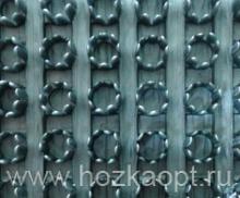 Коврик Травка (жесткий ворс) 90смх15м (серый металлик)