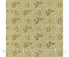 0047-003-05PW Клеенка Аврора, 1,37 *20м, золото (ПВХ на ткан.основе)