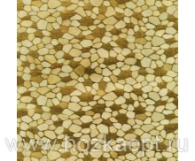112-003-05PW  Клеенка Аврора, 1,37 *20м, золото (ПВХ на ткан.основе)