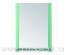 606 Зеркало 800*600мм, с полочкой Accoona