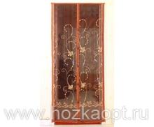 01XH Сетка а/москит. на дверь, магнит (210см*100см) корич.