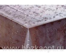 178-001ТС Клеенка DEKOLINE Crystal 1,37*20м прозрач.