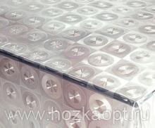 183-001ТС Клеенка DEKOLINE Crystal 1,37*20м прозрач.