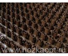 Коврик Травка на основе 45*75см коричневый