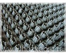 Коврик Травка на основе 45*75см серый
