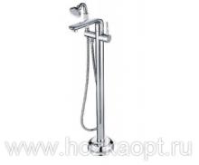 6690-1 Смеситель для ванны напольный. Accoona