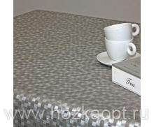 PLZ140556-SL Клеенка Polyline 1,4*15м Дижон платина (Ткань с покрытием)