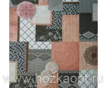 528/6 Клеенка Sale&Pepe 1,4*20м Византия роз. (ПВХ на нетк.осн.)