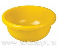 1167-5 Таз круглый 18л (желтый) Plast team