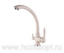 5179H-7 Смеситель для кухни с выходом для питьевой воды. Бежевый Accoona