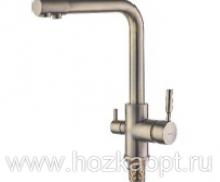 5179-4C Смеситель для кухни с выходом для питьевой воды. Бронза Accoona