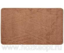 Коврик для в/к Standart  67*120см коричневый светлый