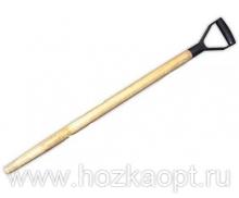 Черенок д/лопаты деревян. d-32мм, L-1200мм с V-обр.ручкой