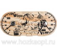 """18048 Термометр с гигрометром Банная станция """"В парной"""" 25*11см"""