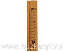 """18037 Термометр """"Баня"""" 27*6,5*1,5см"""