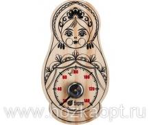 """18046 Термометр """"Матрёшка"""" 9,5*17см"""