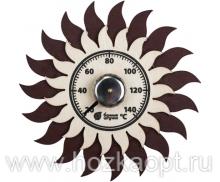 """18043 Термометр """"Солнышко"""" 13*13см"""