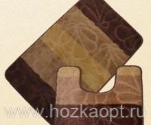 Коврик для в/к Avangart 1пр. 50*80 (BrownD.Beige)