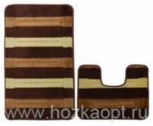 Коврик для в/к Avangart 2пр. 60*100 (Brown)