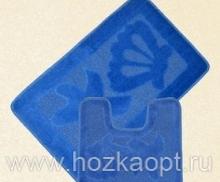 Коврик для в/к Standart  1пр. 40*60 синий