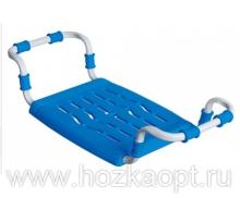 Сиденье в ванну Раздвижное, пластик, индиго (СВ5)