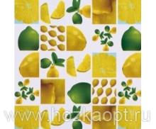 23033 Клеенка ВЕРОНА на нетканной осн.1,37*25м мод. SJ295А лимоны