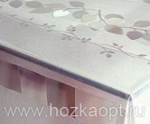 224-001ТС Клеенка DEKOLINE Crystal 1,37*20м прозрач.