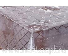 302-001ТС Клеенка Crystal 1,37*20м прозрач.