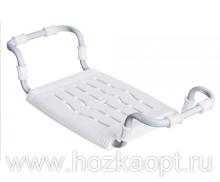 Сиденье в ванну Раздвижное, пластик, белый (СВ5)