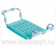 Сиденье в ванну Раздвижное, пластик, бирюза (СВ5)