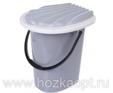 4001М Ведро-туалет 20л серый