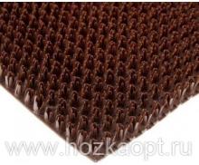 Коврик Травка на основе 40*60см коричневый