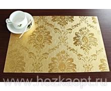 "5114 Покрытие д/стола ""Table Mat"" Metallic 0,80*20м. золото ,TD144-А003"