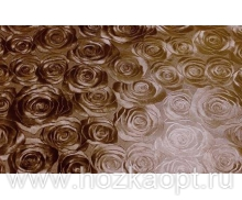 "4991 Покрытие д/стола ""Table Mat"" Metallic 0,80*20м. кофе ,TD192-А041"