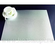 """4994 Покрытие д/стола """"Table Mat"""" Metallic 0,80*20м. серебро ,TD22-А001"""