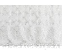 20246 Клеенка ажурн. 1,37*20м серебро мод.ZY-S387A