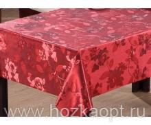 21501 Клеенка Металлик на тканевой основе 1,37*20м (PW274-007-1) красный