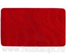 Коврик для в/к Standart  1пр. 60*100 красный
