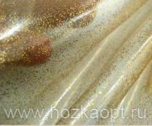 """Шторы для в/к """"Crystal Shine"""" 180*180см, ПВХ (напыление золото)"""