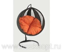 Кресло подвесное Ротанг 8мм. Венге К3