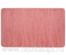 Коврик для в/к Standart  67*120см розовый темный