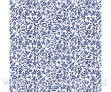 4632А-ТТ Клеенка ORCHID б/основы 1,37*20м (мелкие синие цветочки)